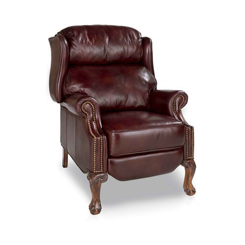 Leather  Carrington High Leg Recliner