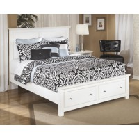 Bostwick Shoals Queen Platform Storage Footboard