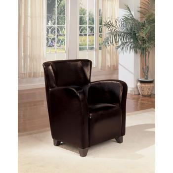 Brown Vinyl Chair - 900234