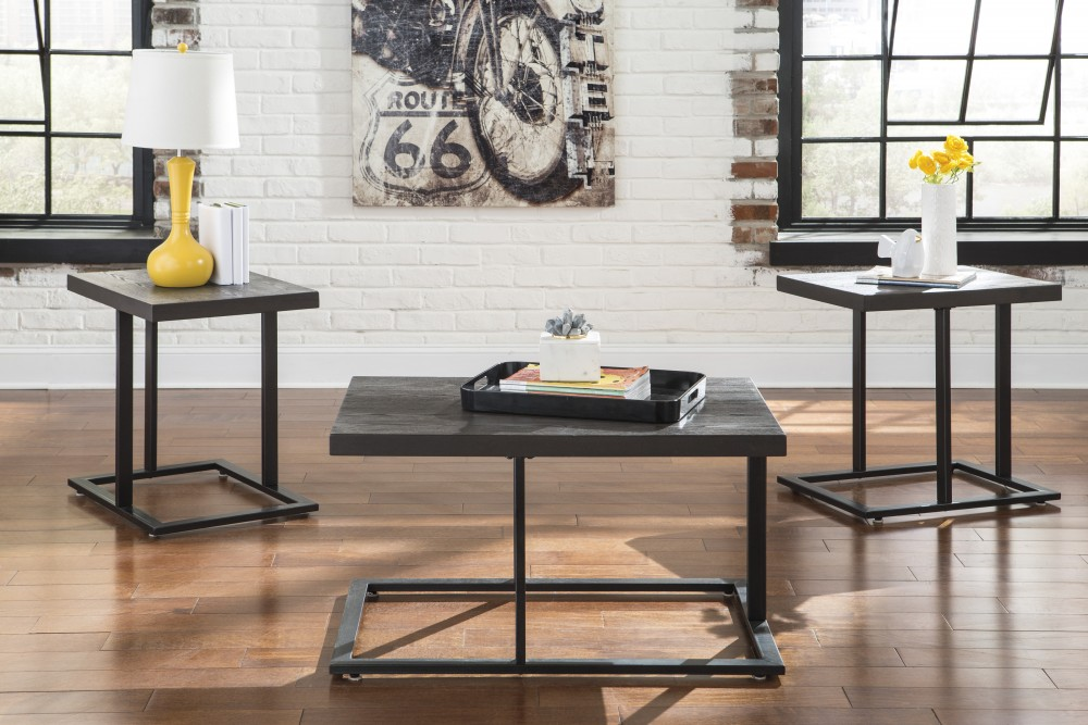 Airdon - Occasional Table Set (Set of 3) | T194-13 | Three Pack ...