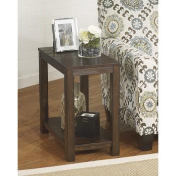 Gratoit - Upholstered Storage End Table