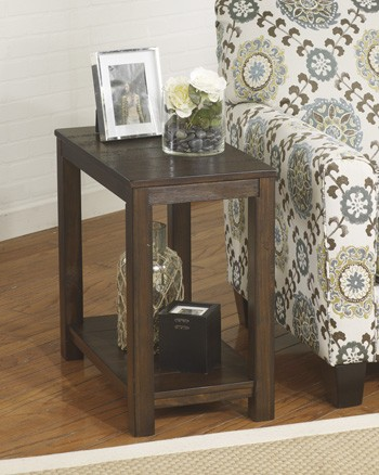 Gratoit - Upholstered Storage End Table
