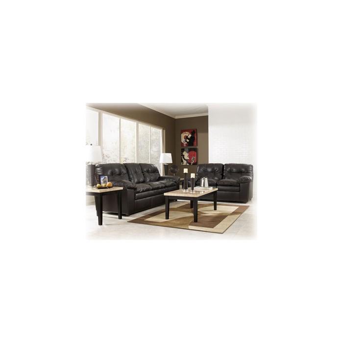 Jordan Java Leather Living Room Package