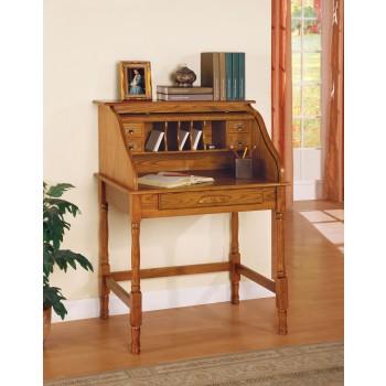 Oak Roll Top Desk - 5301N