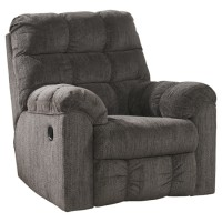 Acieona - Slate - Swivel Rocker Recliner