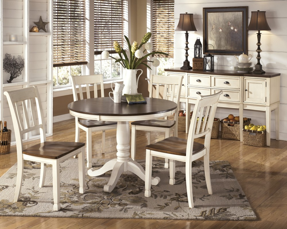 Whitesburg   Round Dining Room Table Base