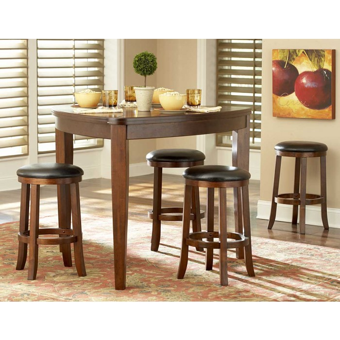 Ameillia Triangle Counter Height Table