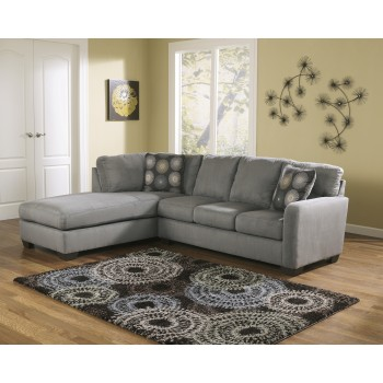 Zella - Charcoal 2 Pc. LAF Corner Chaise Sectional