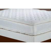 Double Euro Top Mattress and Boxspring (Queen)