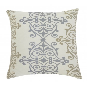 Scroll - Gray/Brown - Pillow Cover