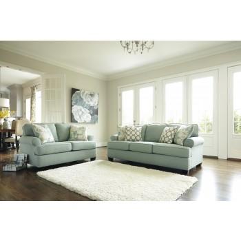 Daystar- Seafoam - Sofa & Loveseat