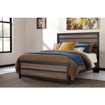 Harlinton King Panel Bed