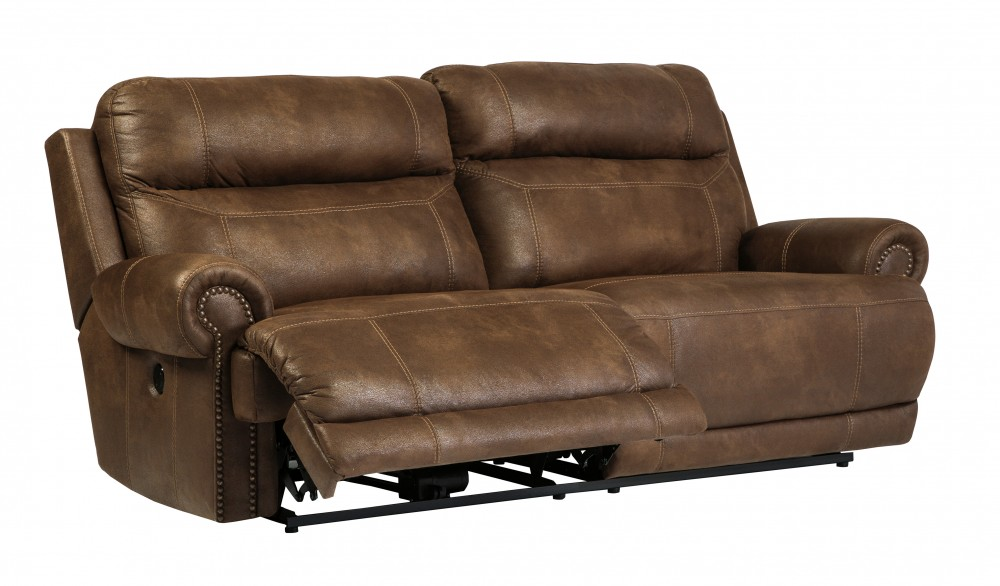 Austere Brown 2 Seat Reclining Power Sofa 3840047