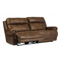 Austere - Brown - 2 Seat Reclining Power Sofa