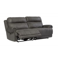 Austere - Gray - 2 Seat Reclining Power Sofa