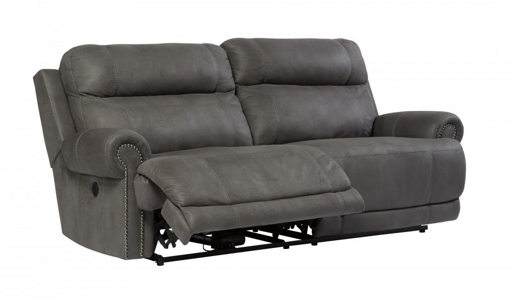 Beau Austere   Gray   2 Seat Reclining Sofa