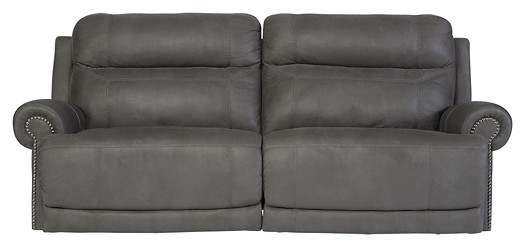 Austere - Gray - 2 Seat Reclining Sofa