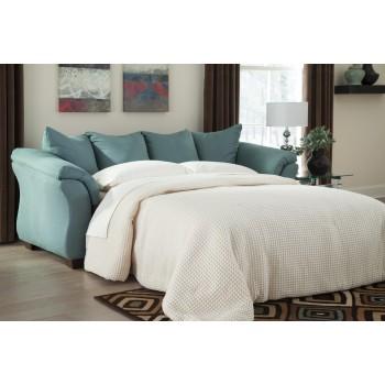 Darcy - Sky - Full Sofa Sleeper