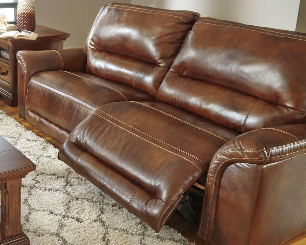 Jayron Harness 2 Seat Reclining Sofa U7660081 Leather