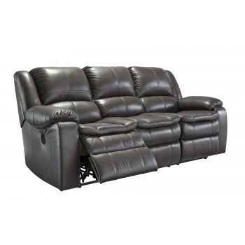 Long Knight - Gray - Reclining Power Sofa