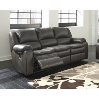 Long Knight - Gray - Reclining Sofa