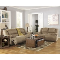 Hogan - Mocha - Reclining Sofa & Loveseat