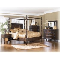 Key Town Canopy Bedroom Group