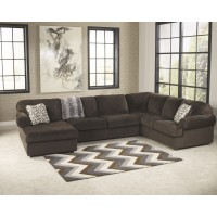 Jessa Place - Chocolate - LAF Corner Chaise