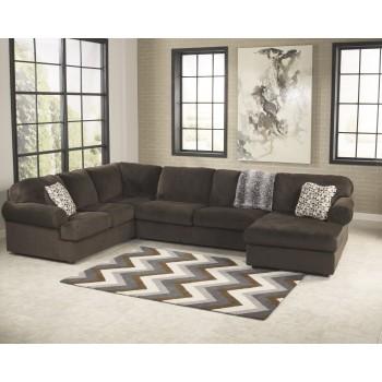 Jessa Place - Chocolate - LAF Sofa