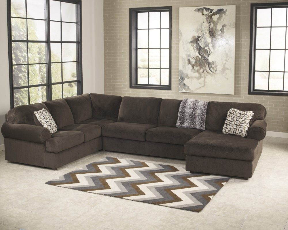 Jessa Place   Chocolate   LAF Sofa