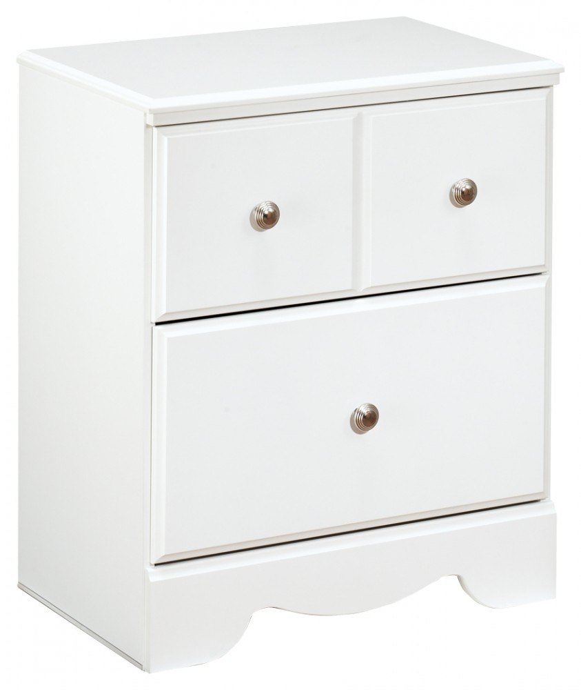 Weeki - Two Drawer Night Stand
