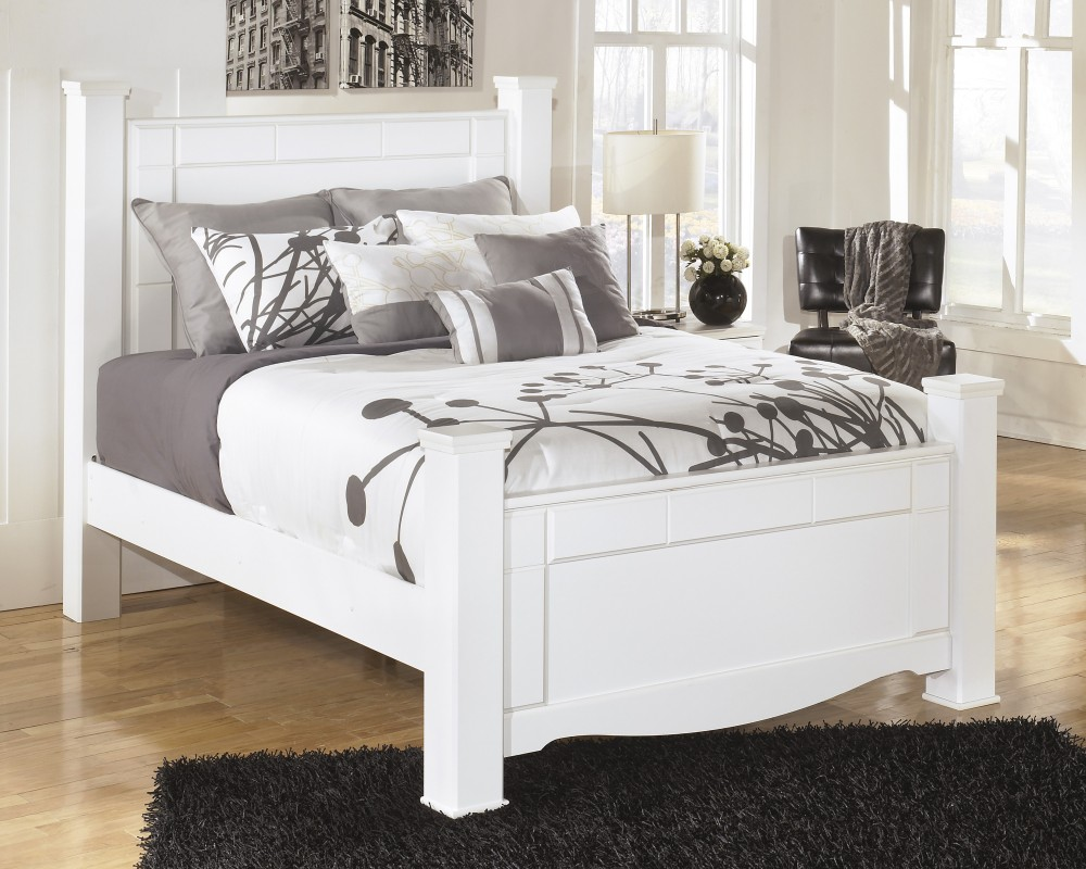 Weeki - Queen Poster Rails | B270-98 | Bed Frames | Perfectly At Home