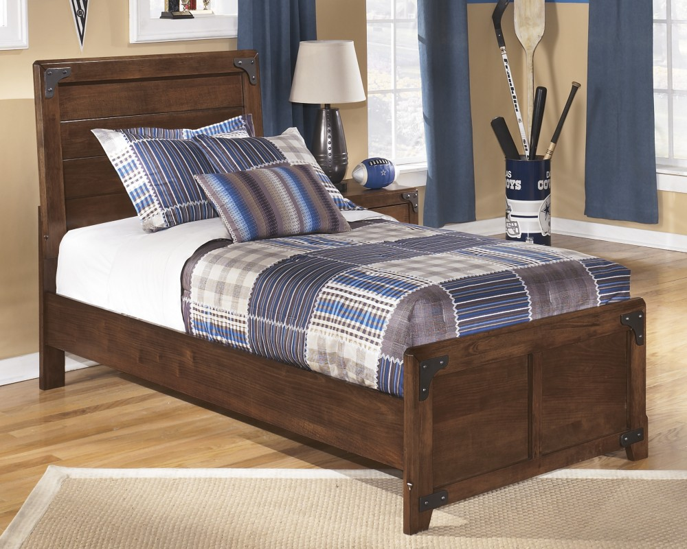 Delburne   Twin Panel Headboard/Footboard | B362 63 | Bed Frame