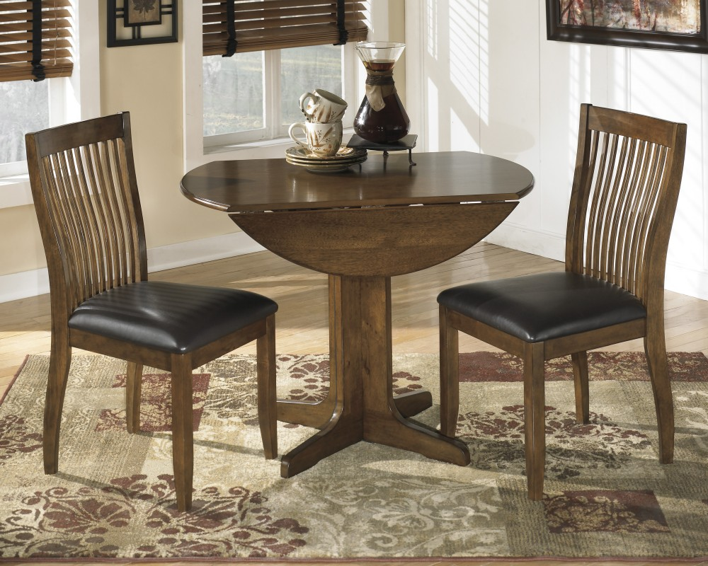 Stuman Round Drop Leaf Table D293 15 Tables Sleep Masters