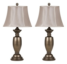 Ruth - Metal Table Lamp (Set of 2)