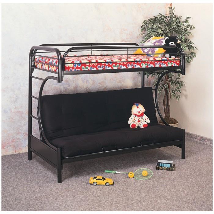 Black C Futon Bunk Bed 470 Bunk Bed Bunk Beds Macomb Mattress