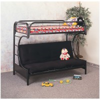 Black C Futon Bunk Bed