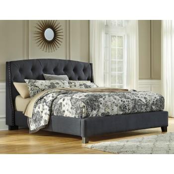 Kasidon Cal King Upholstered Bed