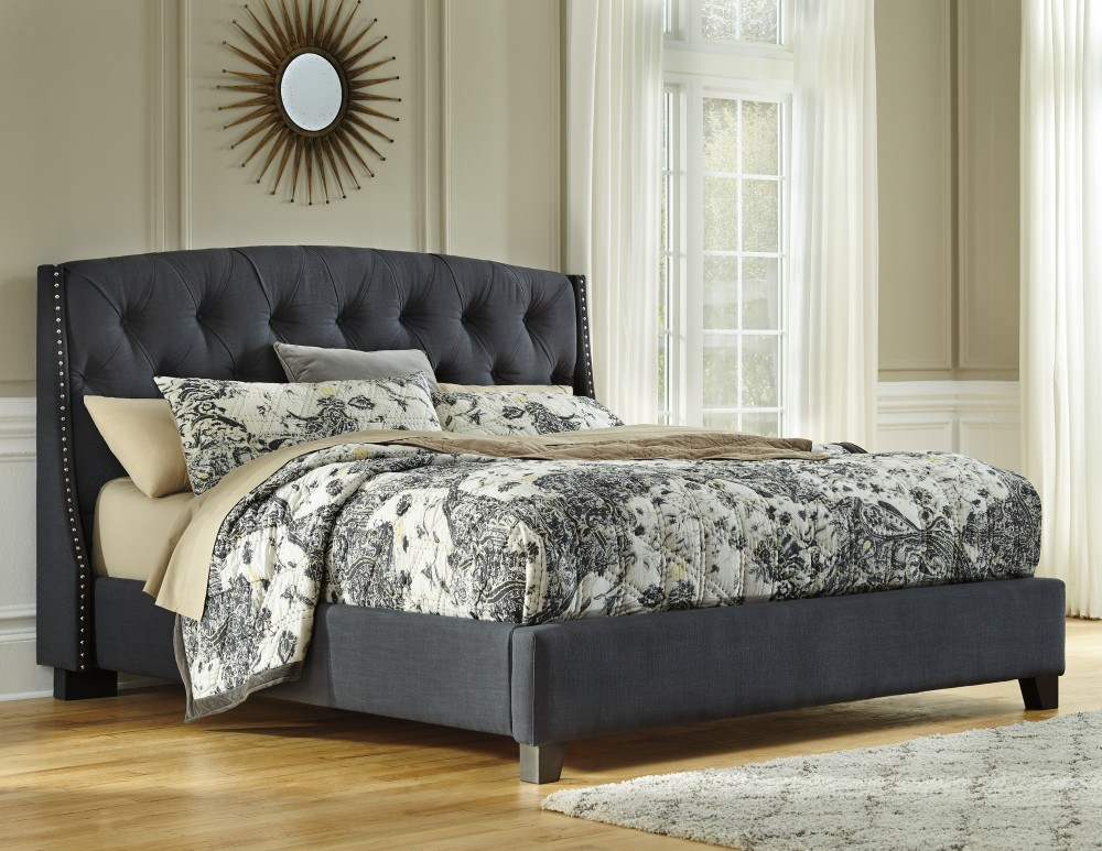 Kasidon Cal King Upholstered Bed