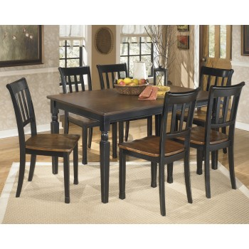 Owingsville Rectangular Dining Room Table & 6 Side Chairs