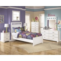 Lulu Twin Bed, Dresser & Mirror