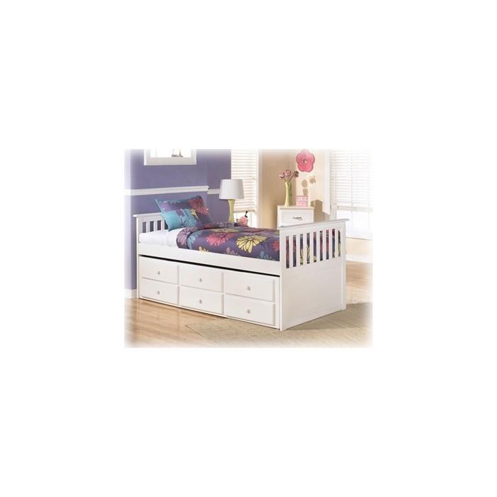 Lulu Twin bed w/Trundle