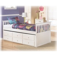 Lulu Twin bed w/Trundle