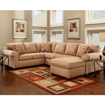 Mocha Sectional Sofa