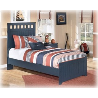 Leo Twin Bed (Headboard, footboard, rails)