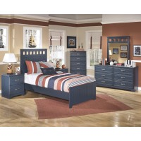 Leo Twin Bed, Dresser & Mirror