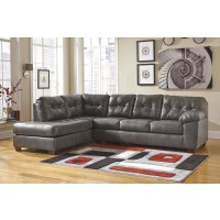 Alliston DuraBlend - Gray 2 Pc. LAF Chaise Sectional