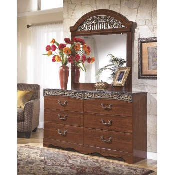 Fairbrooks Estate Dresser & Mirror