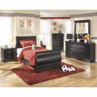 Huey Vineyard Dresser, Mirror & Twin Sleigh Bed