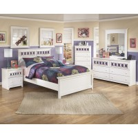 Zayley Full Bed, Dresser & Mirror